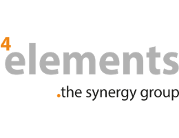 Logo 4elements management GmbH