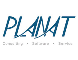 Logo PLANAT GmbH Consulting Software Service